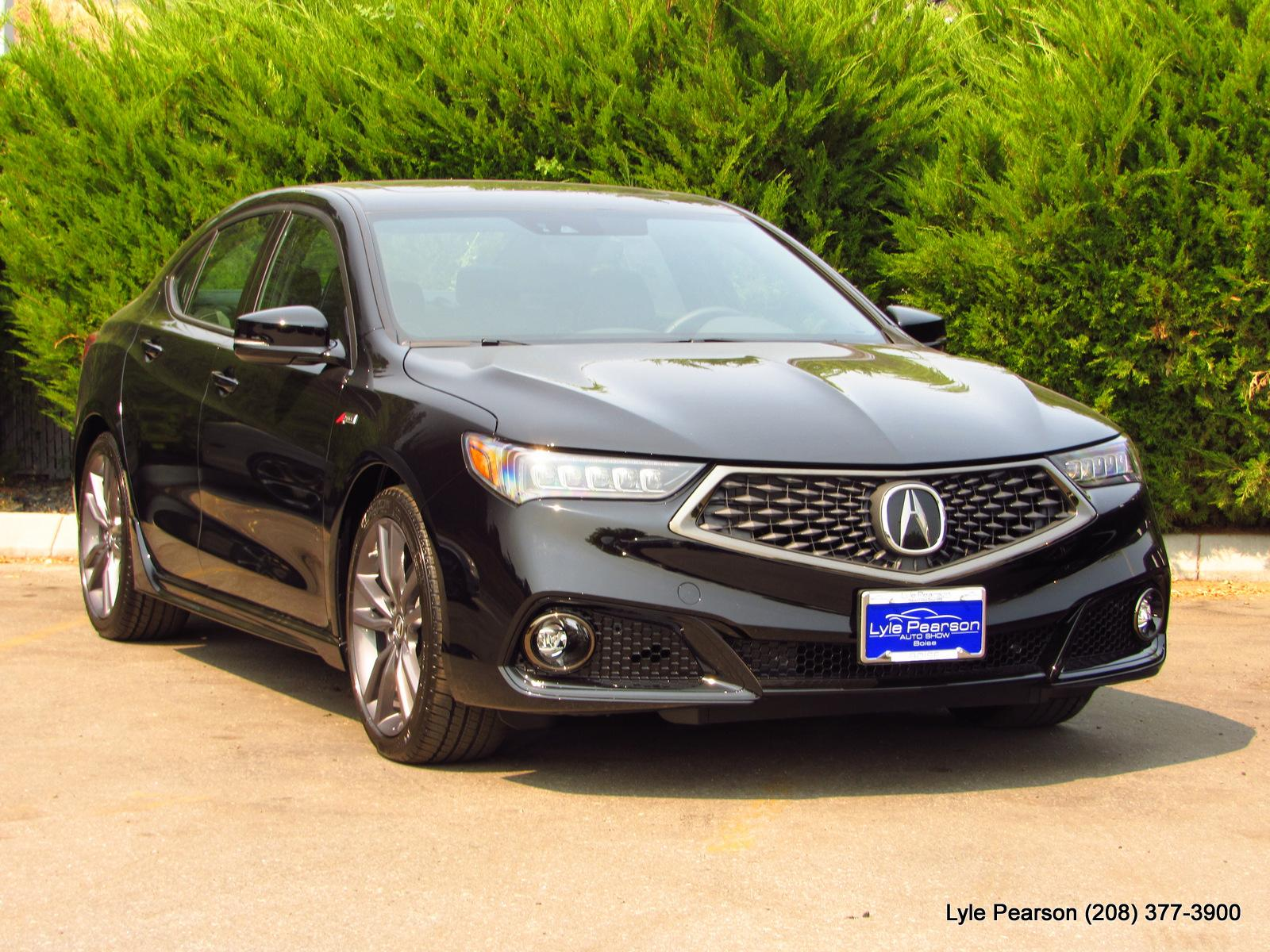 New 2019 Acura TLX FWD A Spec 4dr Car in Boise 19A2362