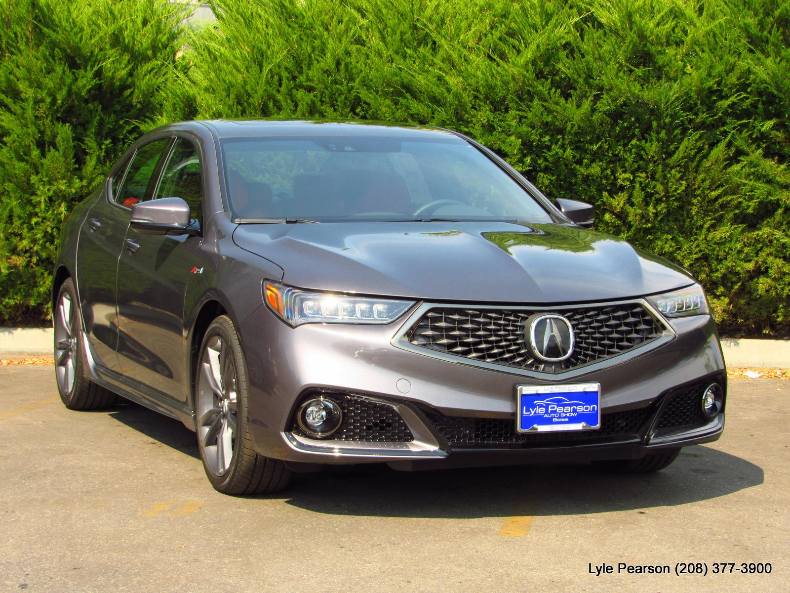 New 2019 Acura TLX 3.5L SH-AWD w/A-SPEC Pkg Red Leathe