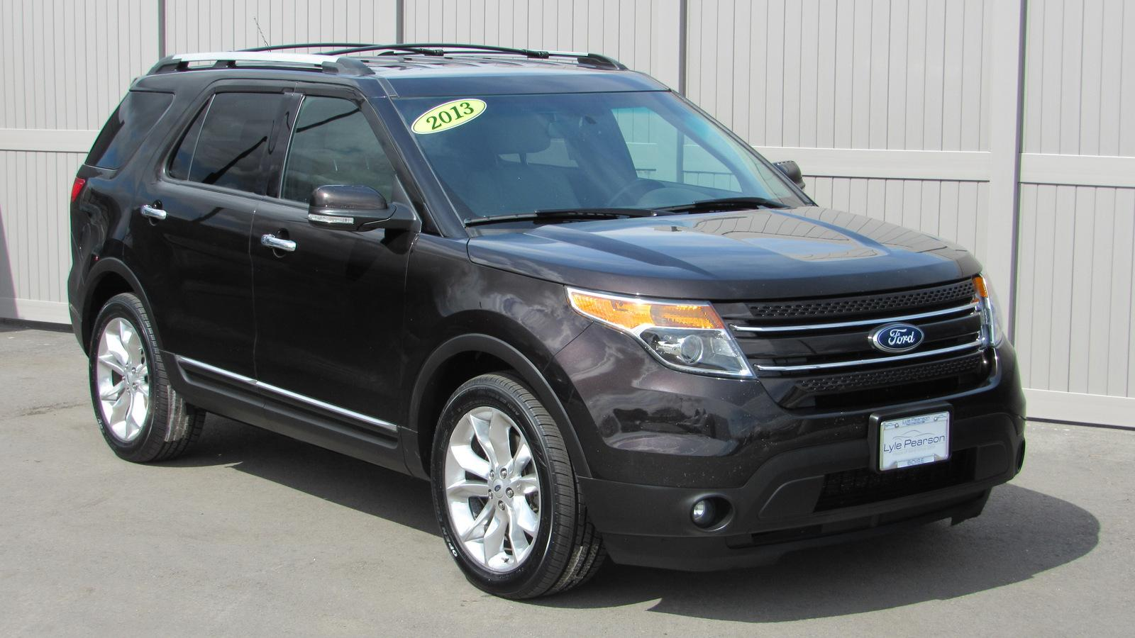 Pre-Owned 2013 Ford Explorer 4WD 4dr Limited