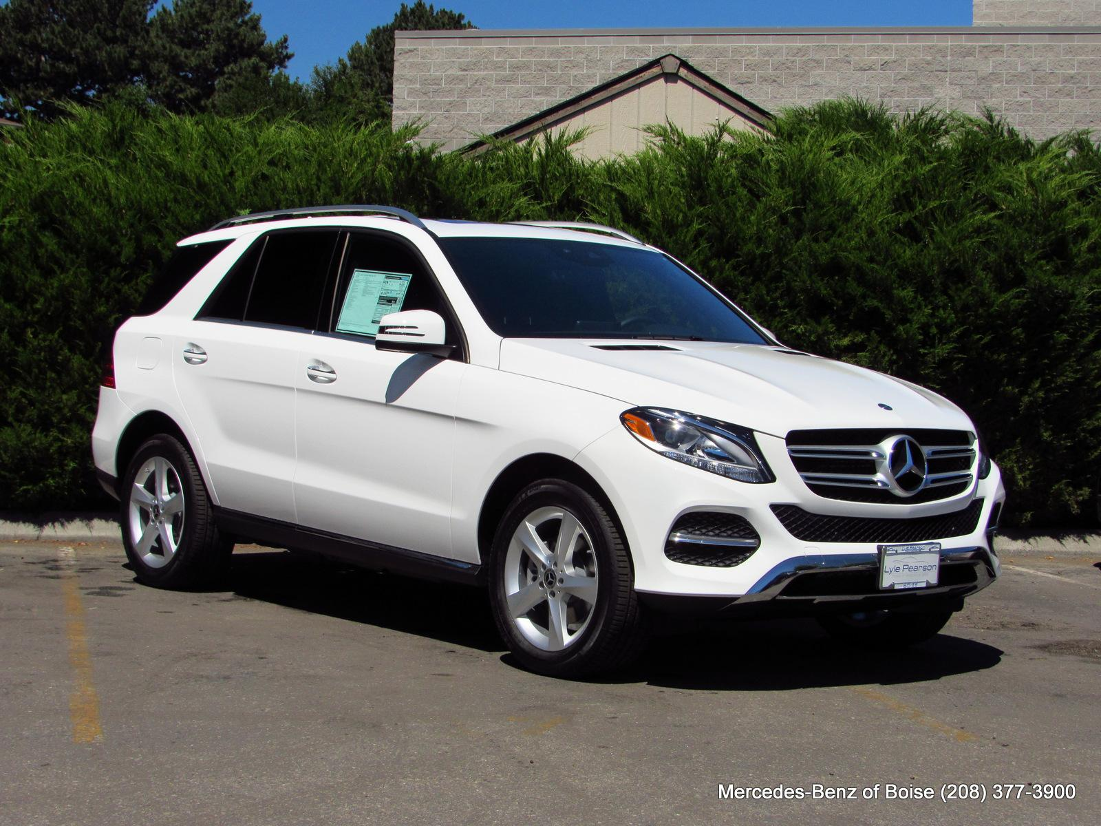 New 2018 Mercedes Benz GLE GLE 350 4MATIC SUV Sport Utility in