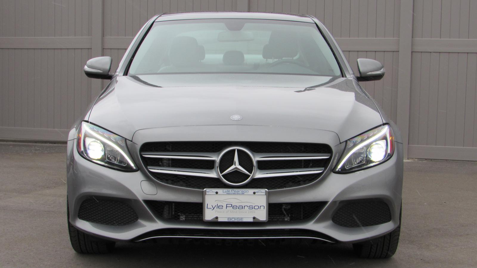 Certified Pre-Owned 2015 Mercedes-Benz C-Class 4dr Sdn C 300 4MATIC®