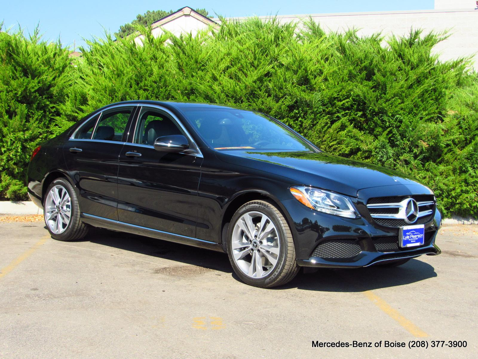 New 2018 Mercedes-Benz C-Class C 300 4MATIC® Sedan