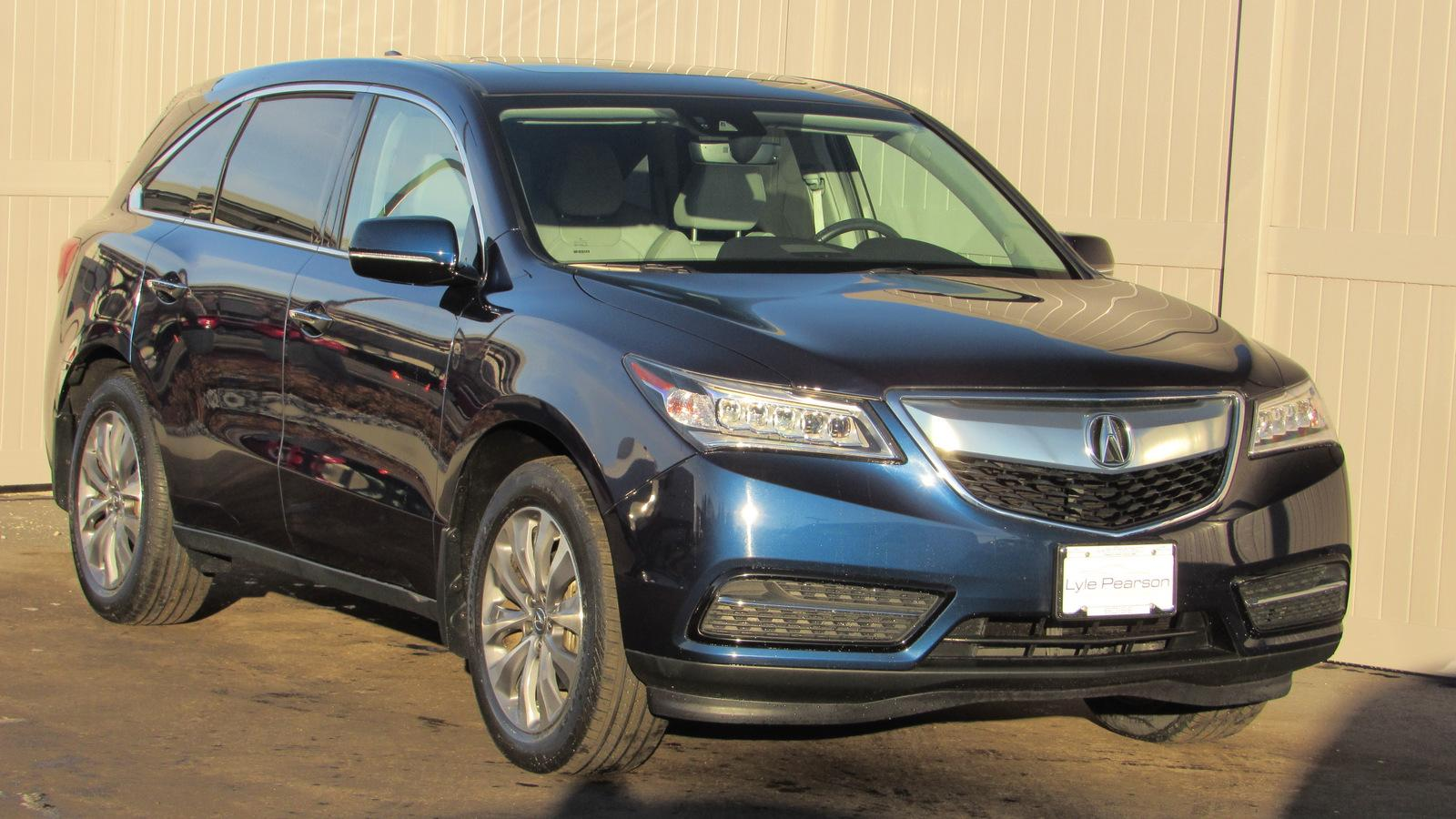 Certified Pre-Owned 2016 Acura MDX SH-AWD 4dr w/Tech/AcuraWatch Plus