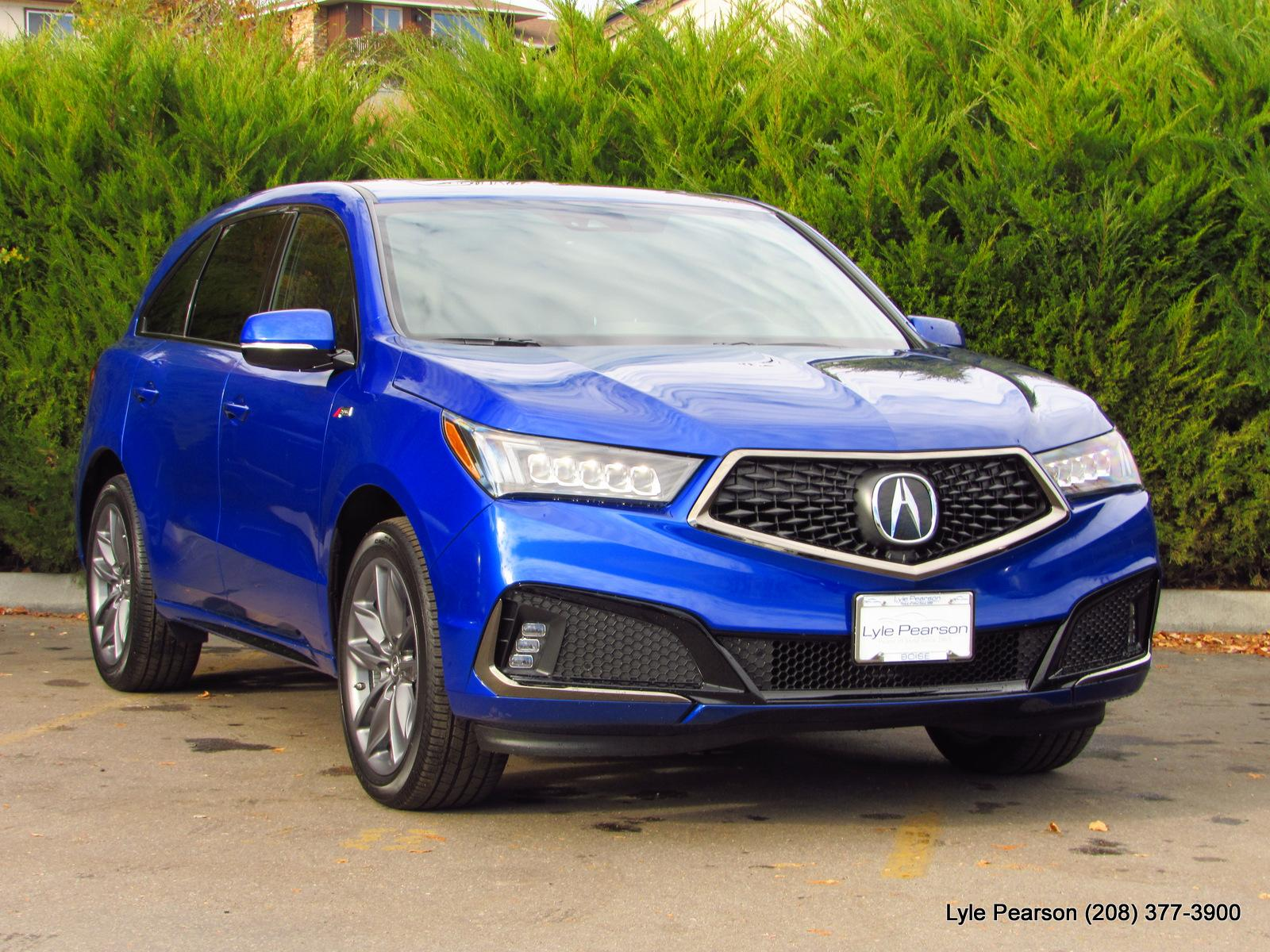 New 2019 Acura MDX SH AWD w Technology A Spec Pkg Sport Utility in