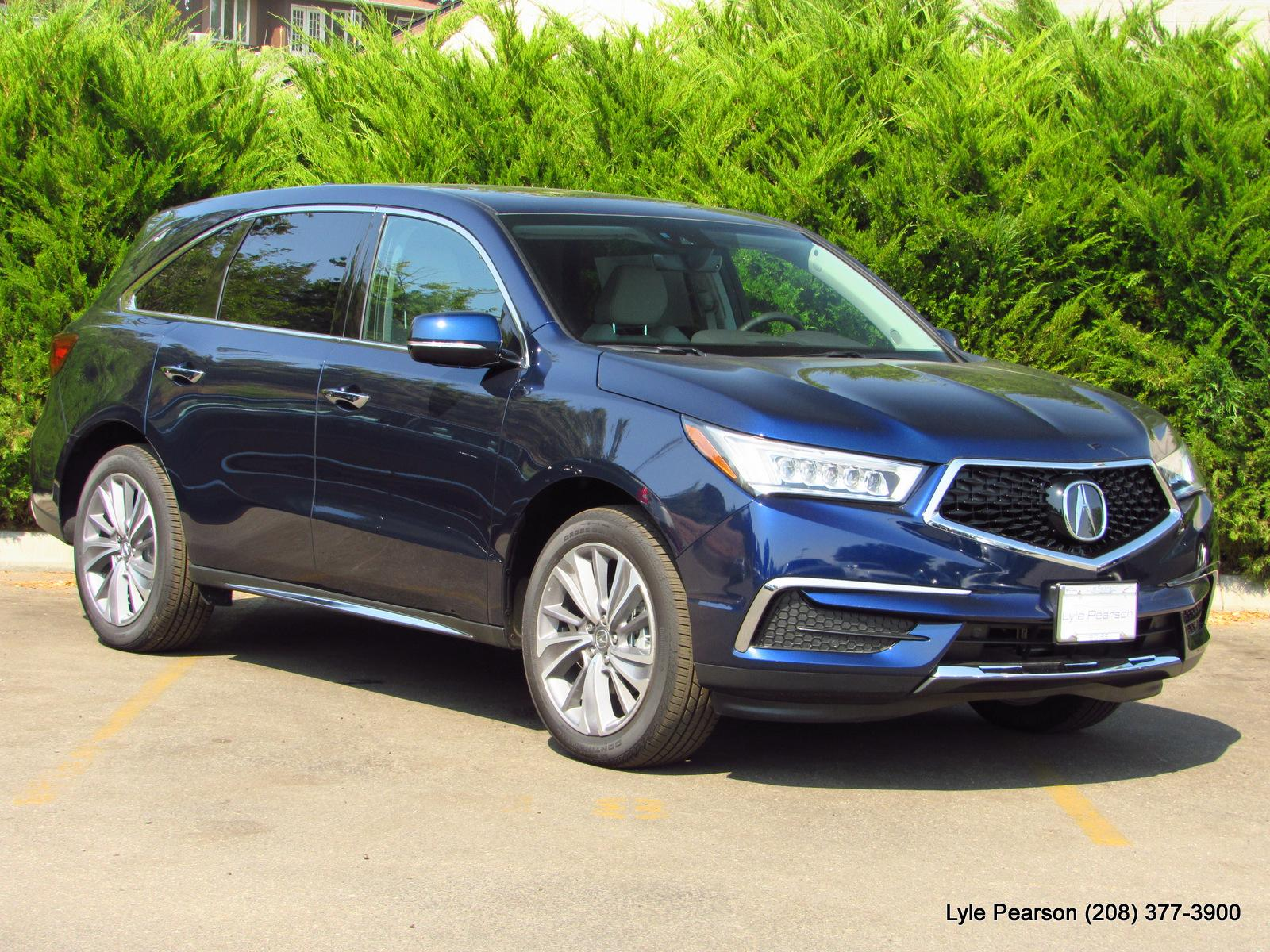 New 2019 Acura MDX SH AWD w Technology Pkg Sport Utility in Boise