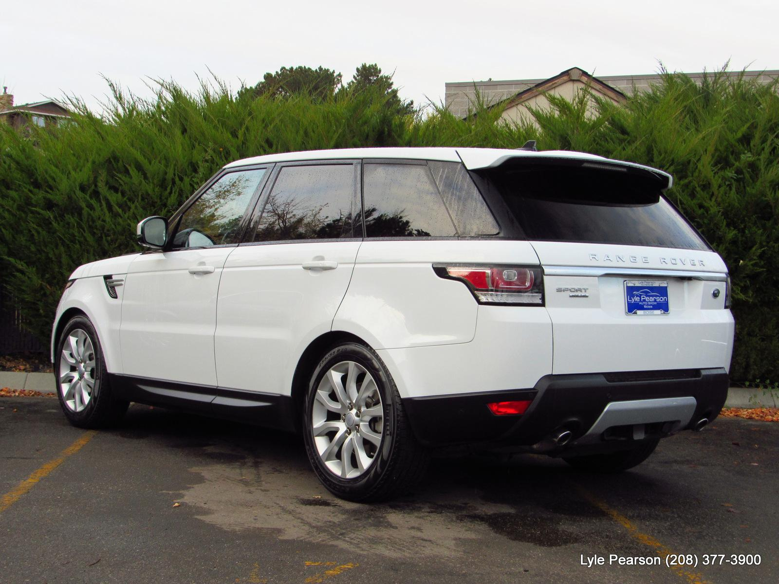 Certified Pre Owned 2016 Land Rover Range Sport 4wd 4dr V6 Heated Windshield Wiring Diesel Hse