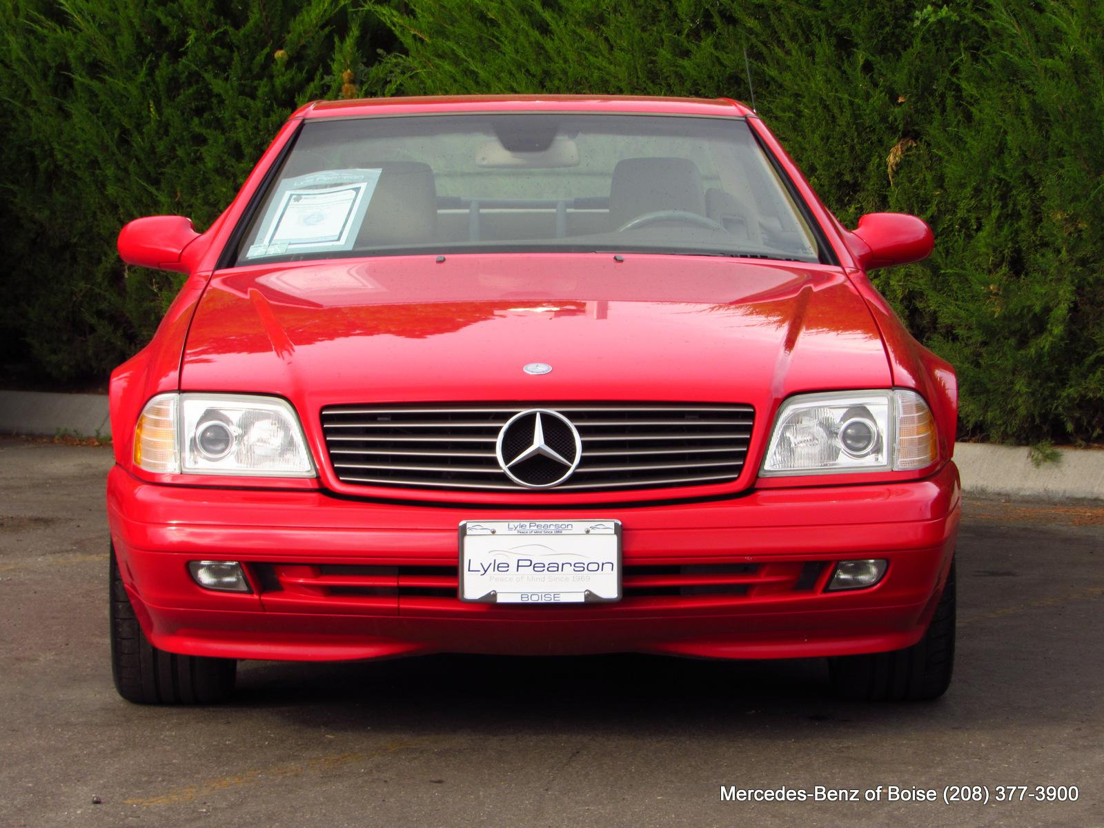 Pre-Owned 2000 Mercedes-Benz SL-Class 2dr Roadster 5.0L