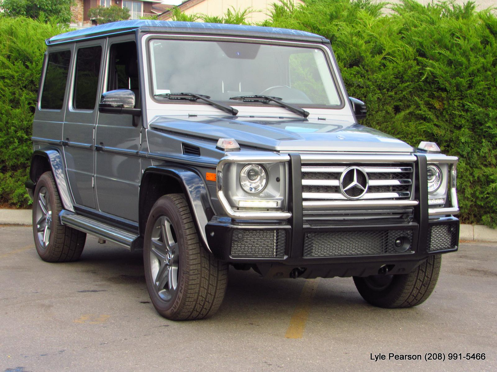New 2018 Mercedes Benz G Class G 550 4MATIC SUV Sport Utility in