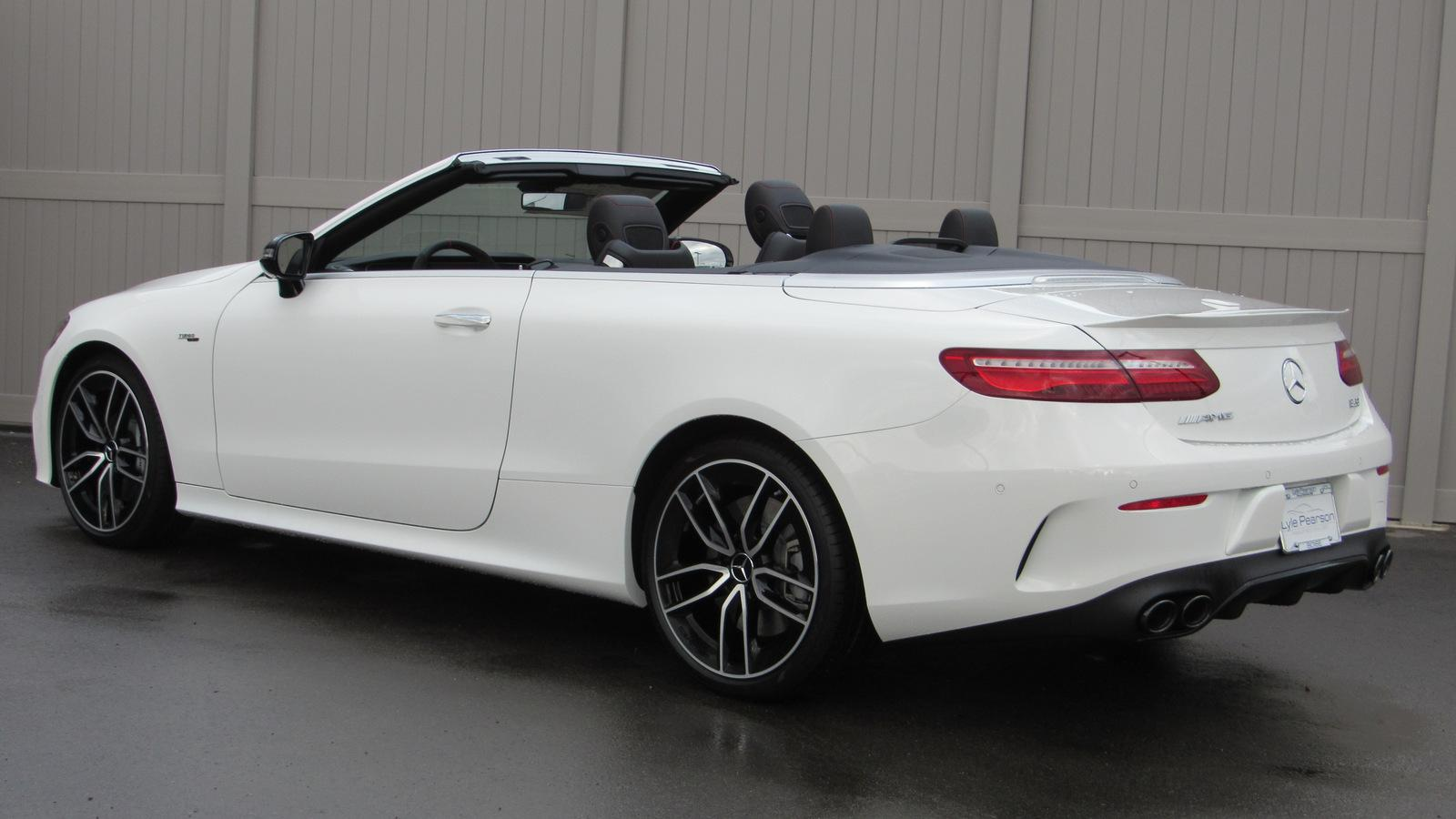 New 2019 Mercedes Benz E Cl Amg 53 4matic Cabriolet