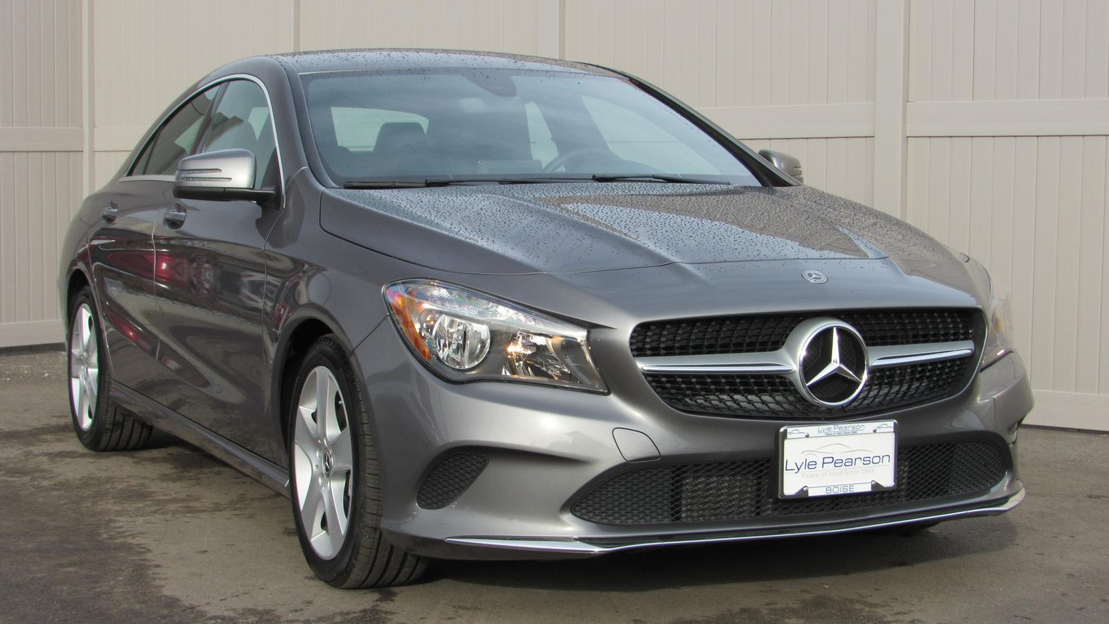 Certified Pre-Owned 2018 Mercedes-Benz CLA CLA 250 4MATIC® Coupe