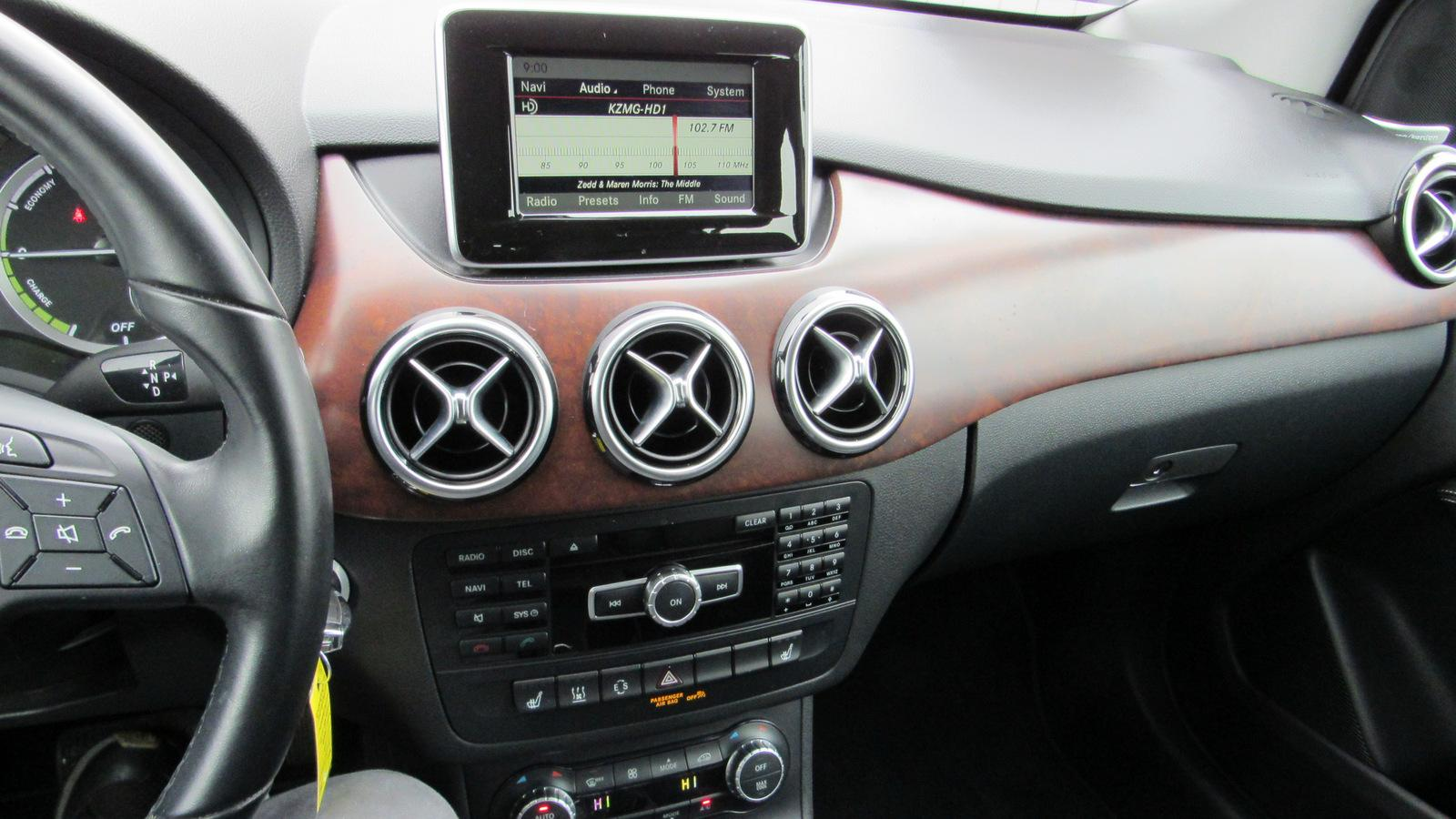 Pre-Owned 2014 Mercedes-Benz B-Class 4dr HB Electric Drive