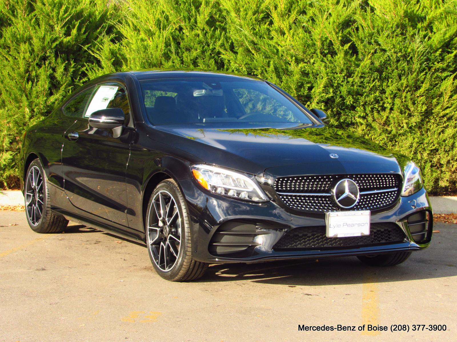 New 2019 Mercedes Benz C Class C 300 4MATIC Coupe Coupe in Boise