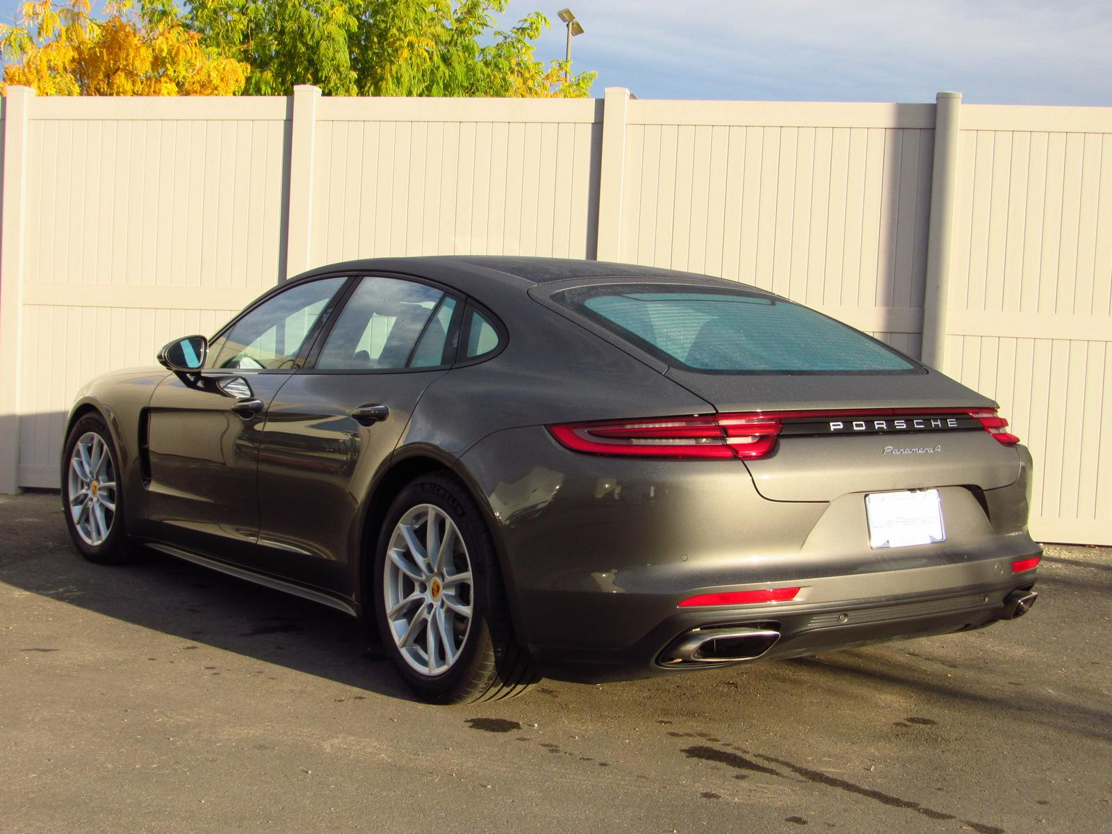 Certified Pre-Owned 2018 Porsche Panamera 4 AWD