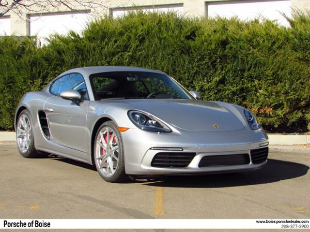 New 2018 Porsche 718 Cayman S Coupe
