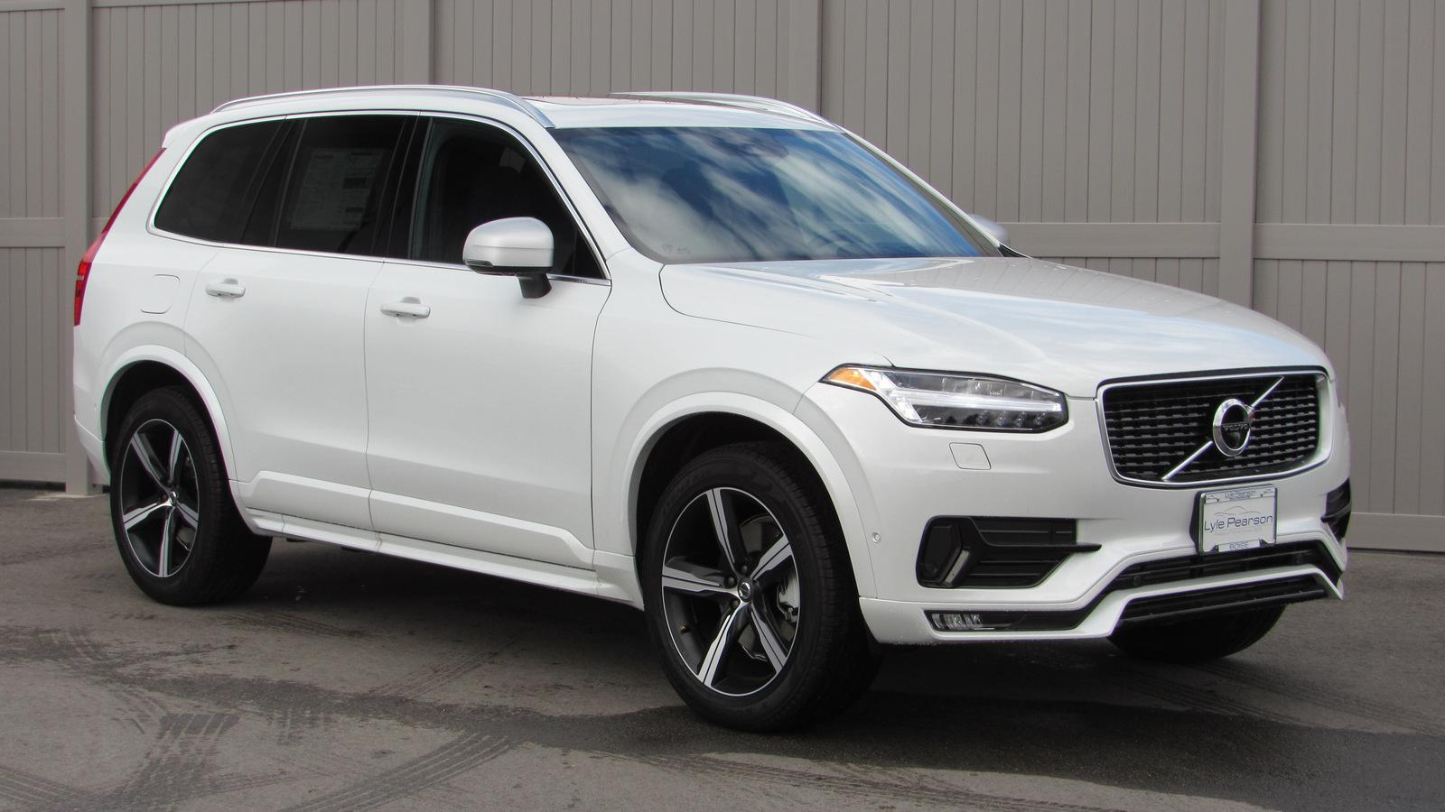 new 2019 volvo xc90 t6 awd r