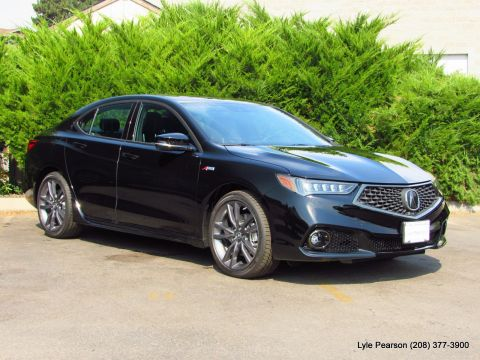 New 2019 Acura TLX 3.5L FWD w/A-SPEC Pkg