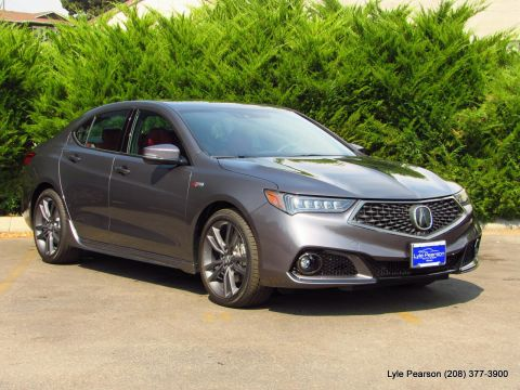 New 2019 Acura TLX 3.5L FWD w/A-SPEC Pkg Red Leather