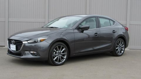 Pre-Owned 2018 Mazda3 Grand Touring Base