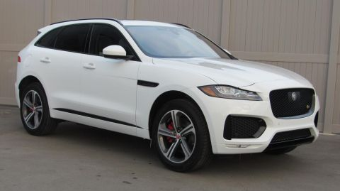 New 2019 Jaguar F-PACE S AWD