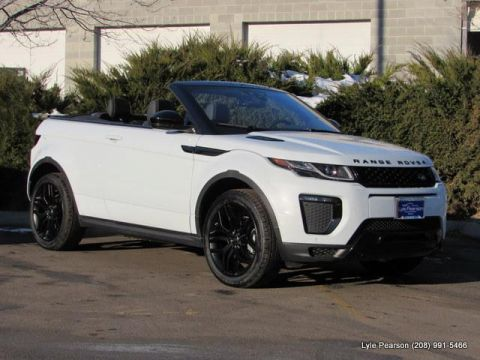 New 2018 Land Rover Range Rover Evoque Convertible HSE Dynamic