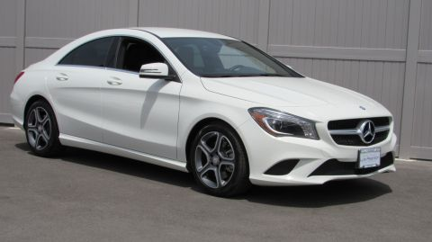 Certified Pre-Owned 2014 Mercedes-Benz CLA CLA250 4MATIC® Coupe